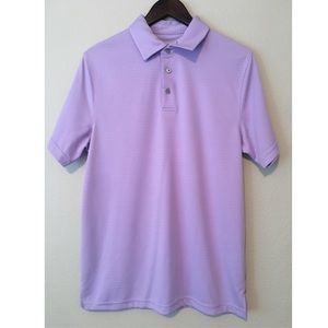 PGA Tour lavender polo shirt